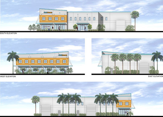 Nautical Ventures proposed 13,000 SF showroom