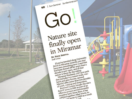 Miramar Pineland Park transformed for family fun
